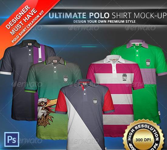 ultimate Polo Shirt Mock-Up