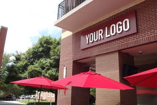 Restaurant 3d Logo Design