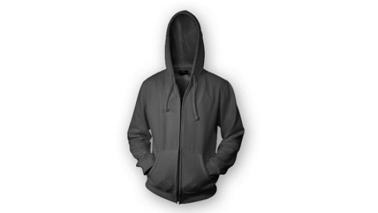 black hoodie mockup