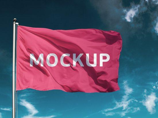 Free Flag Mockup