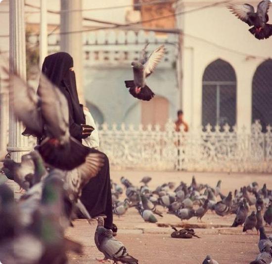 muslim girl dp for facebook