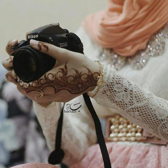 muslim girls dp images