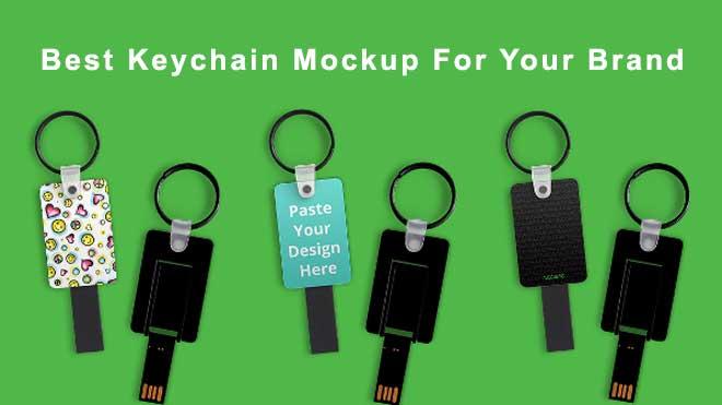 best-keychain-mockup