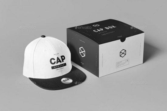 Cap and Box Mock-up