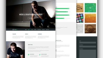 Photo of Focal Resume Template in PSD – Free Download
