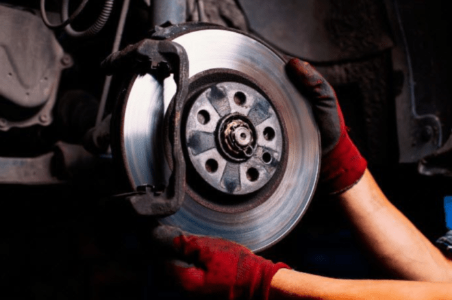 car brake change