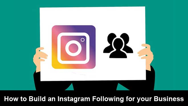 instagram following for business
