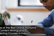 Photo of Some of the Best Online Platforms for Content Writing and Marketing Courses in India