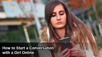 Photo of How to Start a Conversation with a Girl Online