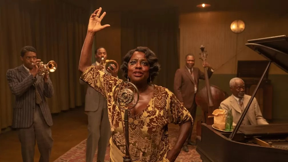 A Voz Suprema do Blues Netflix crítica filme Chadwick Boseman Viola Davis