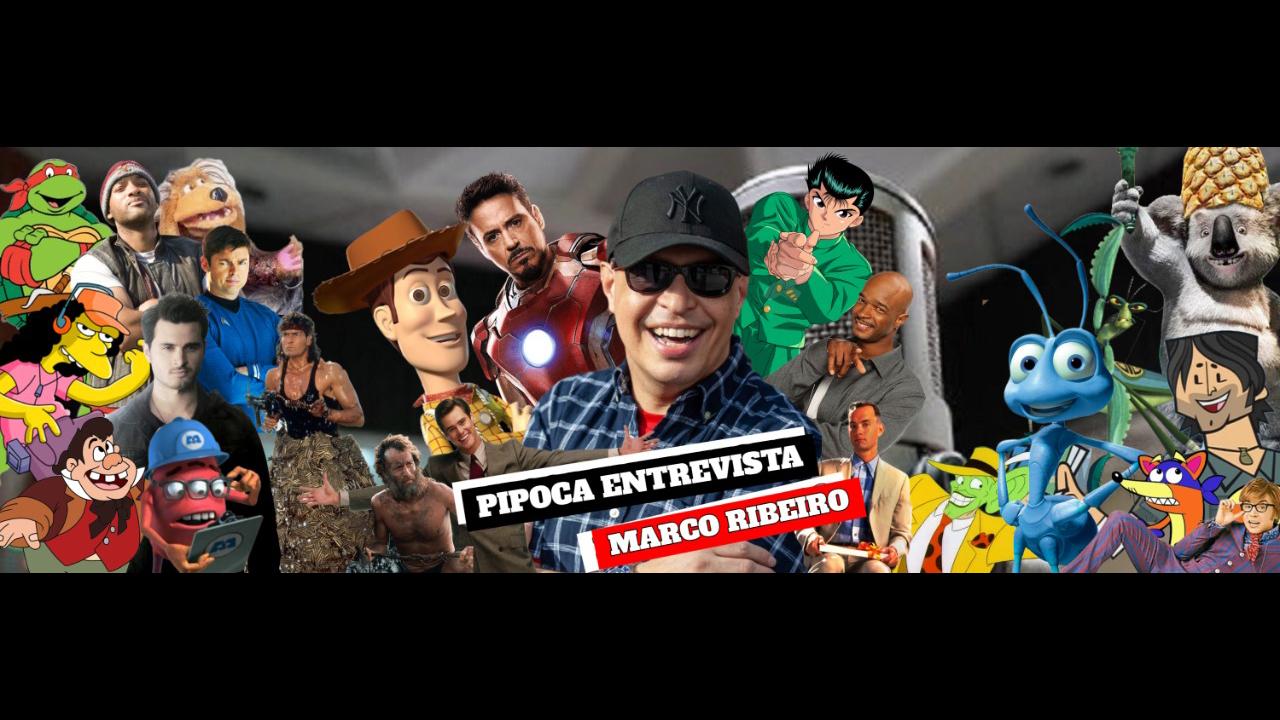 Pipocast | Entrevista com Marco Ribeiro