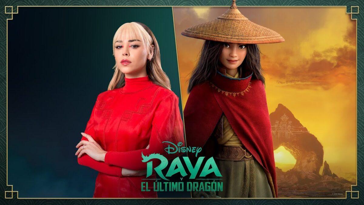 Danna Paola vai dublar personagem principal em 'Raya'