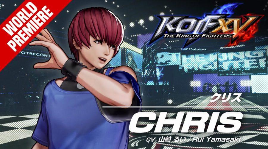 Team Orochi em The King of Fighters XV está de volta com Chris