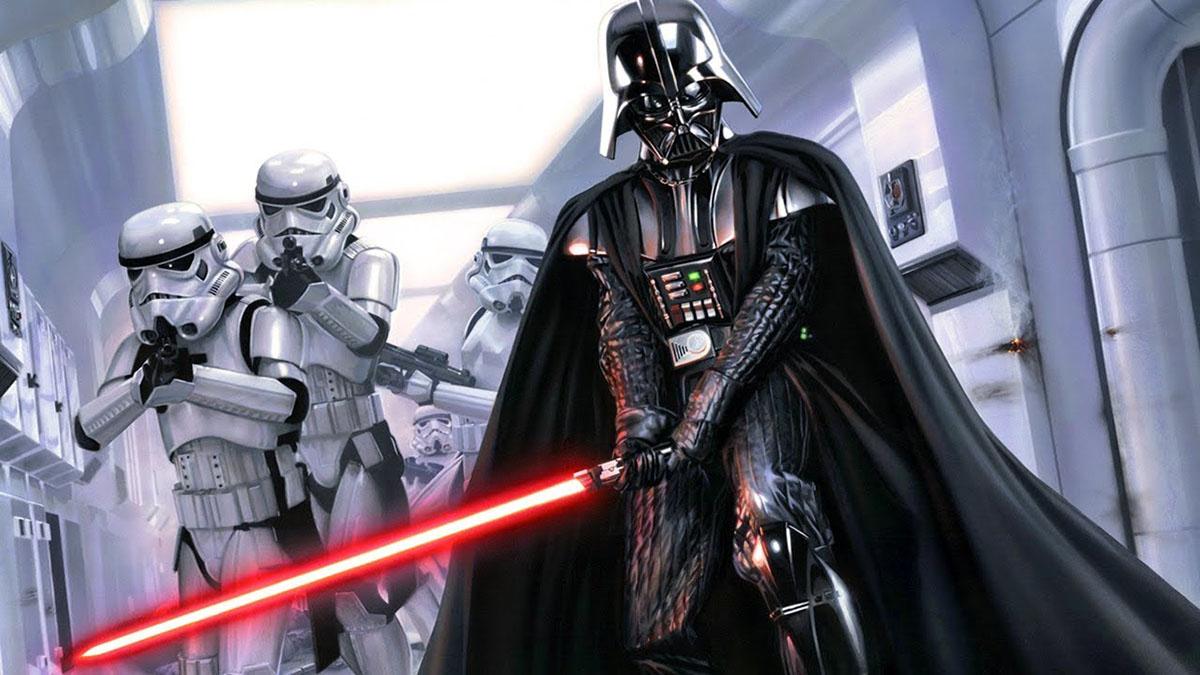 No 'Dia de Star Wars', Darth Vader acompanha vacinação no RJ
