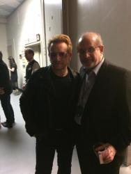 Salman Rushdie e Bono