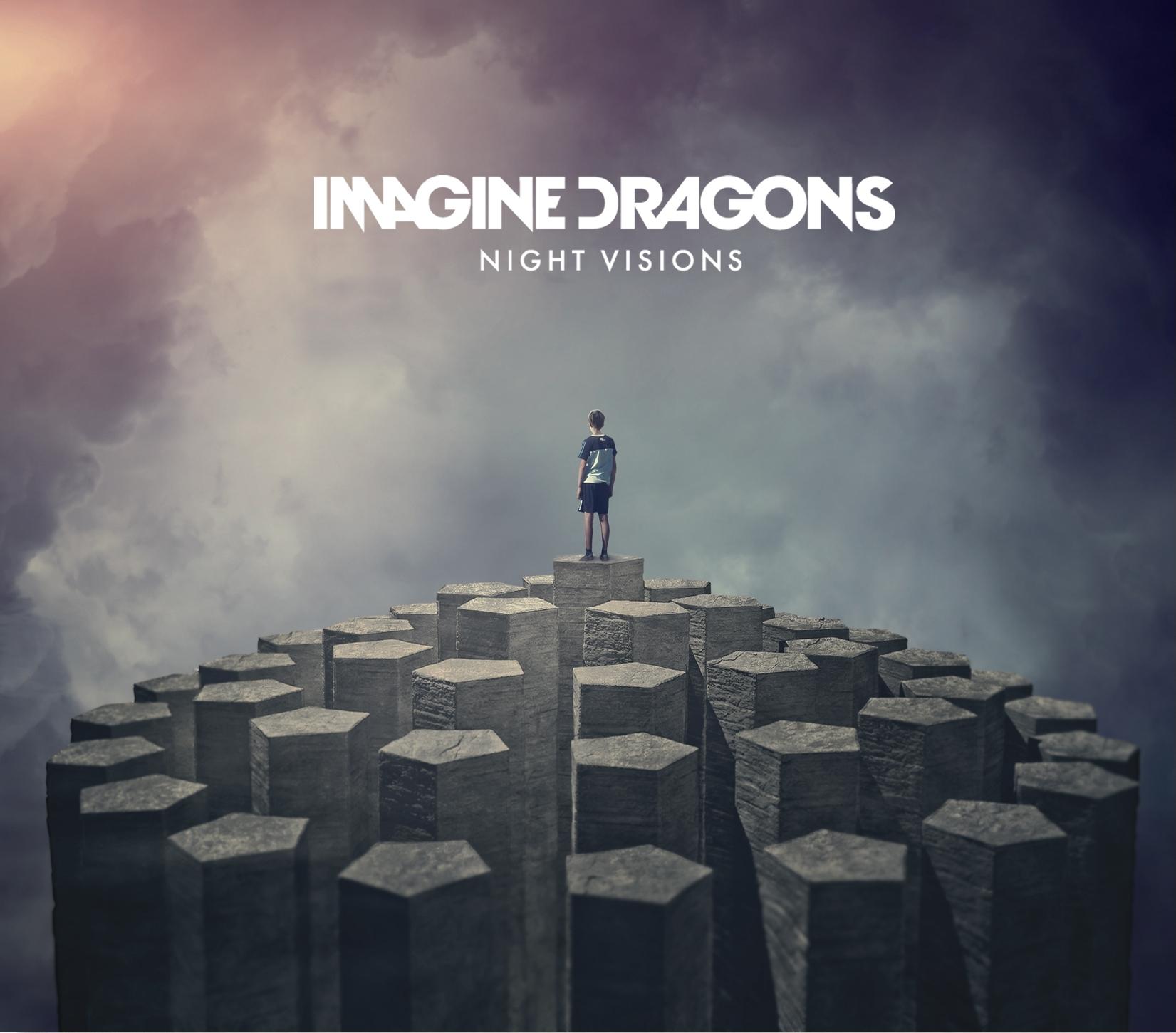 Imagine Dragons, 'Night Visions' album cover