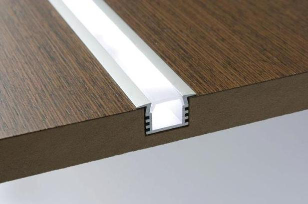 LED lighting extrusions