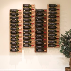 Wall Mounted Wine Rack Panels (Label-Out)