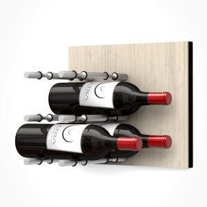 Wall Mounted Wine Rack Panel (Label-Out)