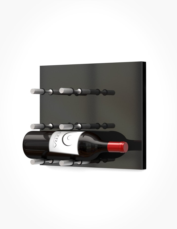 Wall Mounted Wine Holder Wine Rack Panel Label Out Ultra Wine Racks