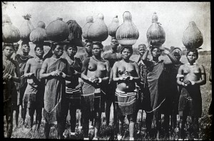 Zulu women of the Masai Mara, circa 1910
