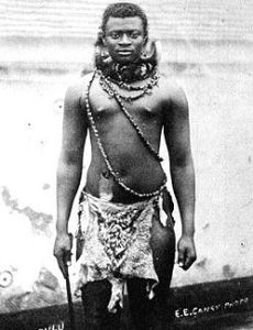 King Dinuzulu kaCetshwayo