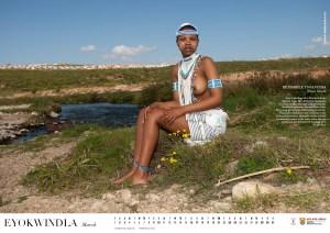 Miss Cultural SA calender 2012