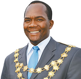 Mayor, Councillor James Nxumalo