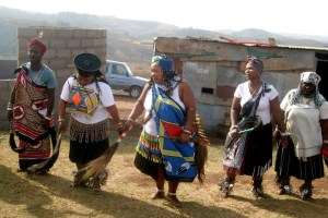 Traditional healers from Umbumbulu