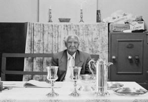 Church elder W. Pringle, Tamboekiesvlei, Kat River Settlement, 2014, by Cedric Nunn