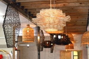 Hanging lights, Cape Town Society for the Blind