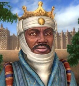 Illustration of Mansa Musa, 10th Emperor of Mali