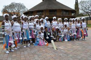 Spiritual dancers at the Kara Heritage Centre