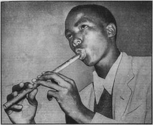 Willard Cele, Drum Magazine, 1951