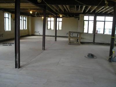 Interior progress
