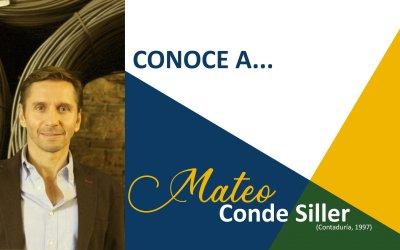 CONOCE A: Mateo Conde Siller