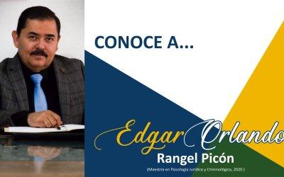 CONOCE A: Edgar Orlando Rangel Picón