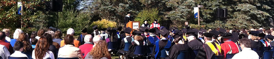 Convocation at the University of Maine at Augusta, September 19 2014