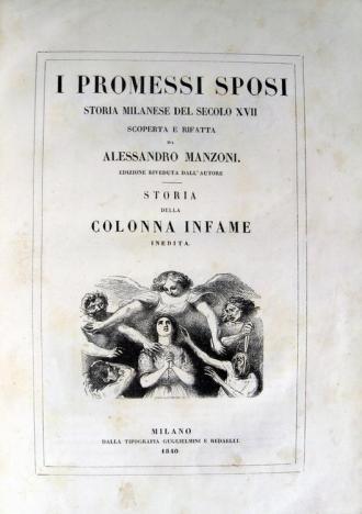 Risultati immagini per copertina dei promessi sposi