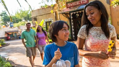 Um bilhete, por favor. Zuri's sweet shop abre no Disney's Animal Kingdom
