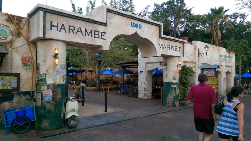 Harambe Market é inaugurado no Animal Kingdom 1