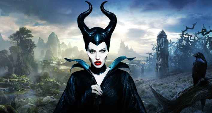 Maleficent_and_Diaval_Wallpaper