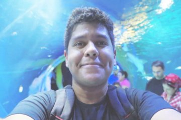 O FUNDO DO MAR NO SEA LIFE AQUARIUM ORLANDO | Um bilhete, por favor.
