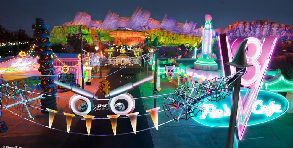 Radiator Springs terá Halloween exclusivo na Disneyland Califórnia