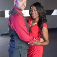Engagement pictures at the Guthrie Theater