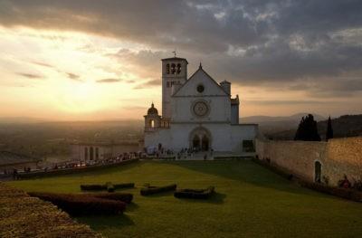 cammini in umbria alunna più buona d'italia assisi basilica san francesco cammini