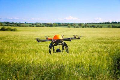 droni in agricoltura linea verde