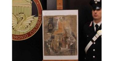 Corniciaio romano con un Picasso a sua insaputa