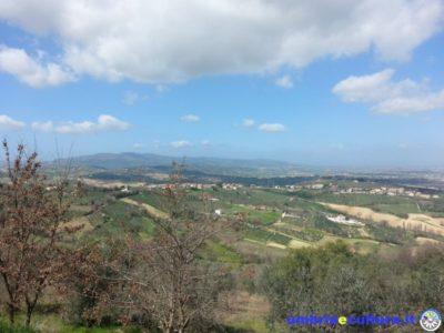 montefalco panorama strada del sagrantino