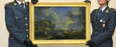 Arte: ritrovata tela di Mulier trafugata durante l'ultima guerra